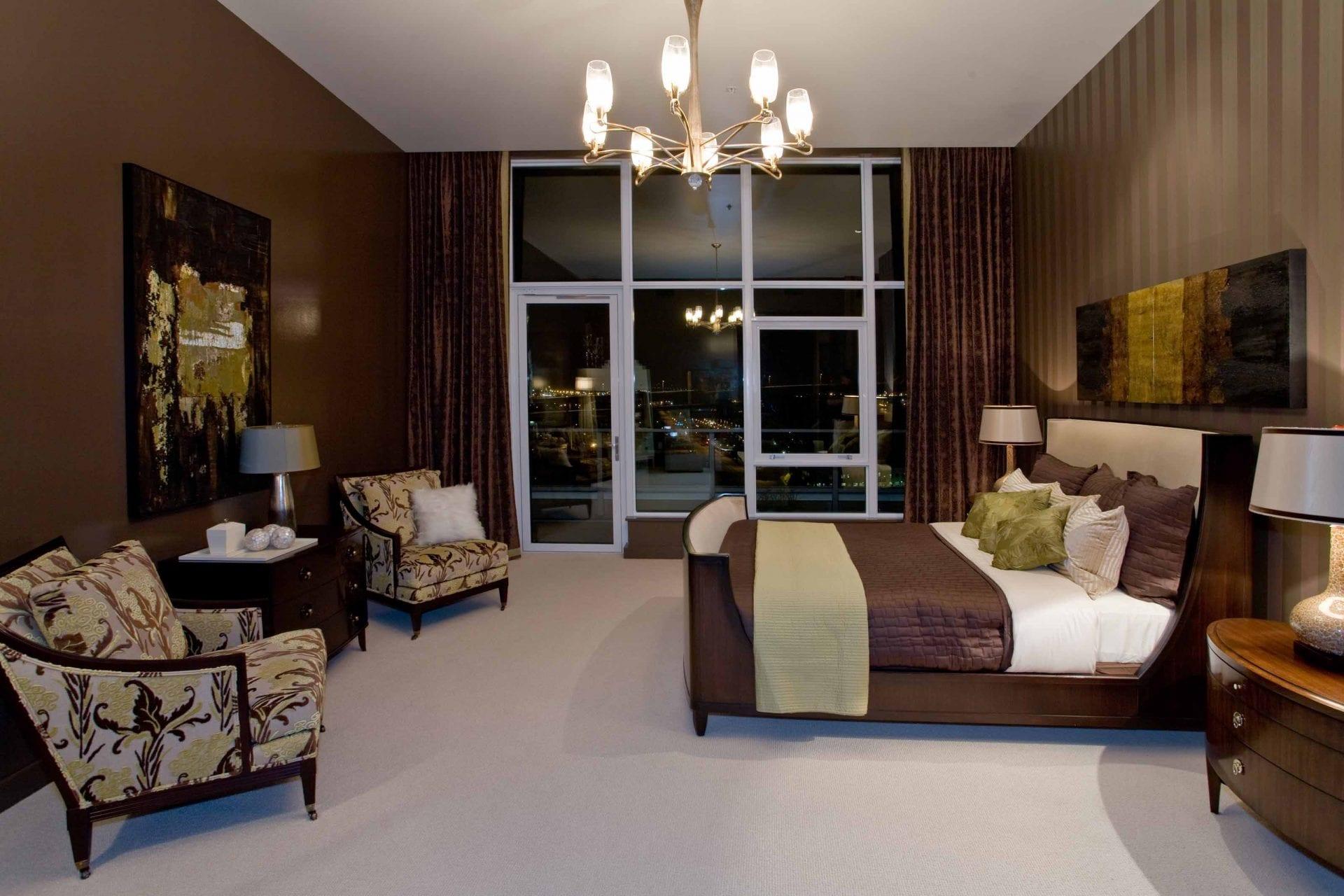 Master Bedroom at Night
