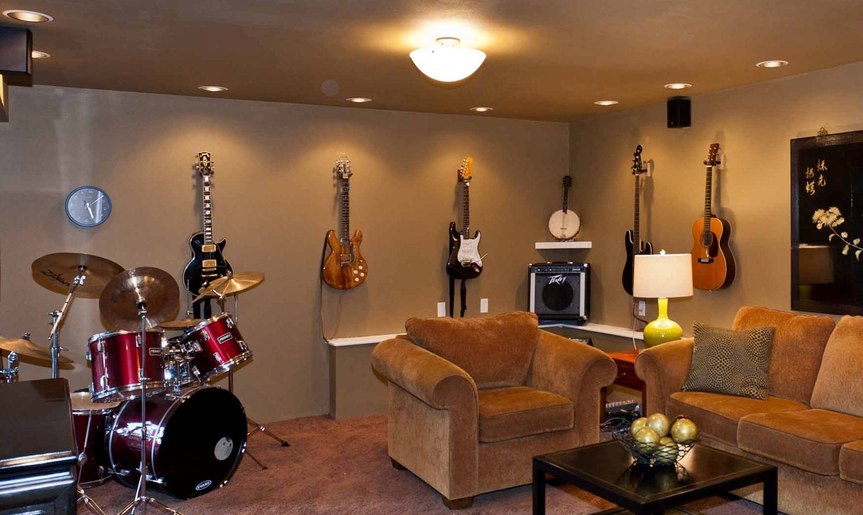 Music Room Pamela Sandall Design