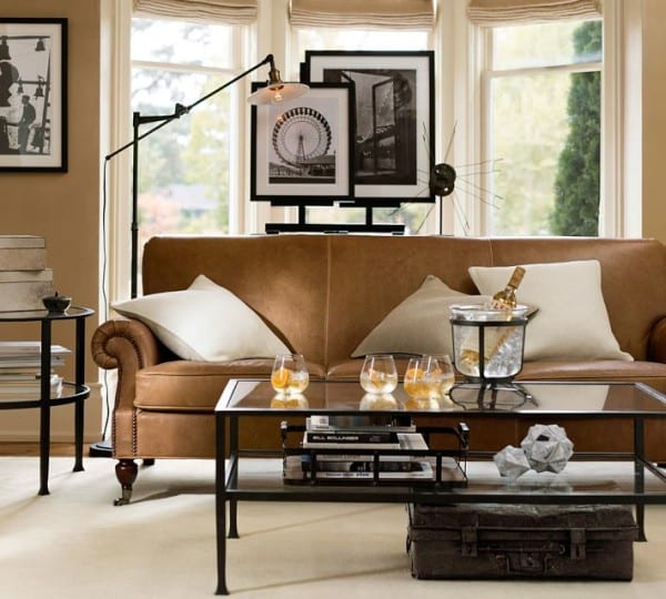 Pottery Barn Living Room Furniture: Gorgeous Rooms Are Better Cultivated Than Created