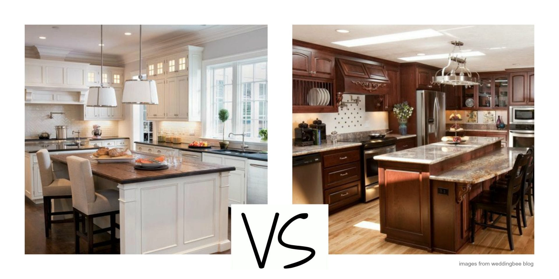 White Versus Wood Where Are Kitchen Cabinets Headed