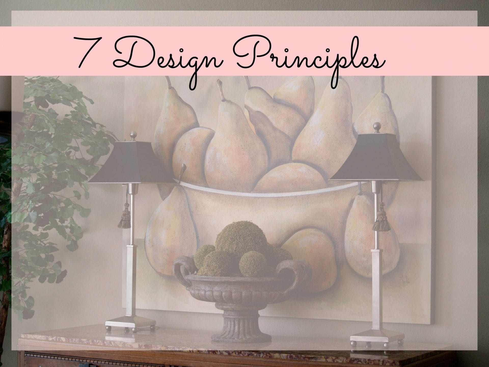 7 Principles Of Art : Design principles