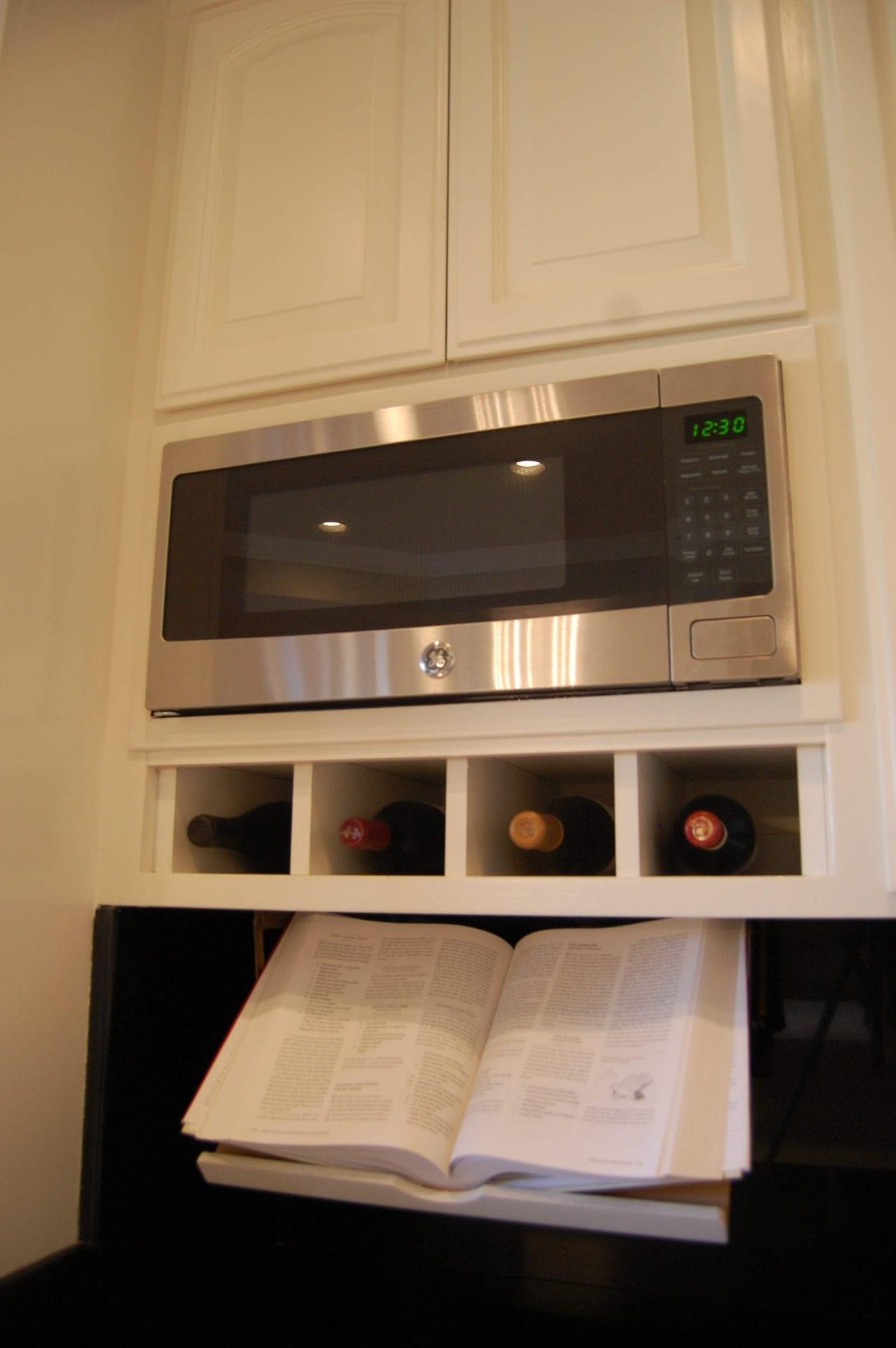replaced vintage microwave