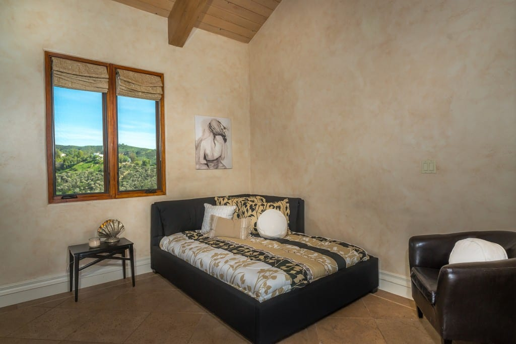 Guest Bedroom with great view