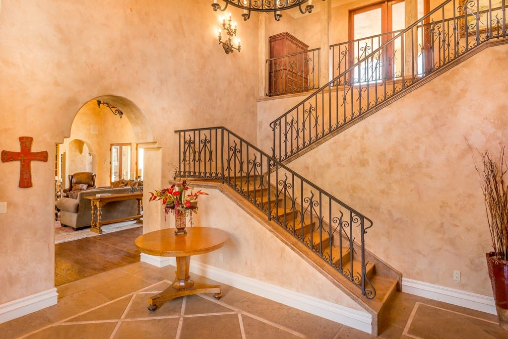 Tuscan Foyer