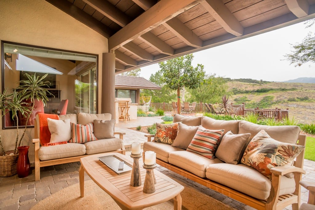 Bohemian on the Ridge Outdoor living